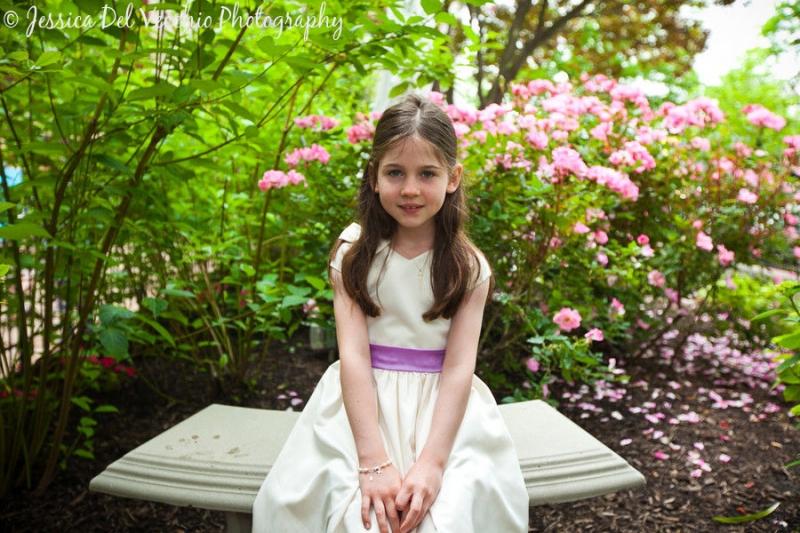 Jessica Del Vecchio McLean Virginia First Communion Photographer