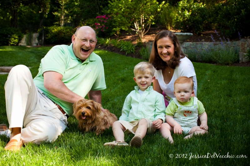 Jessica Del Vecchio McLean Virginia Family Portrait Photographer