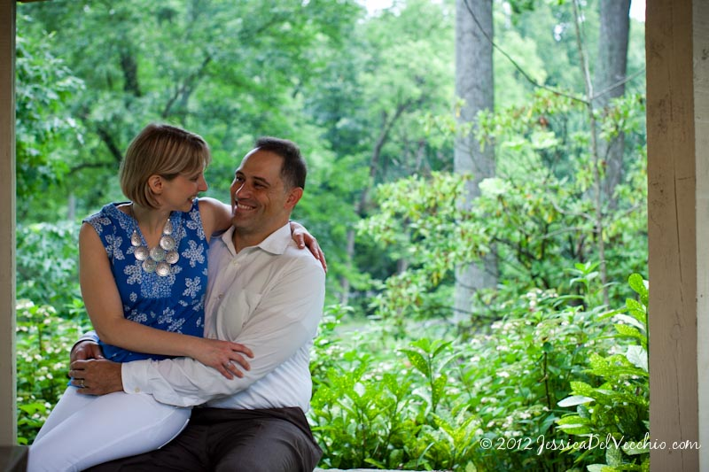 Brookside Gardens Maryland Portrait Photographer Jessica Del Vecchio