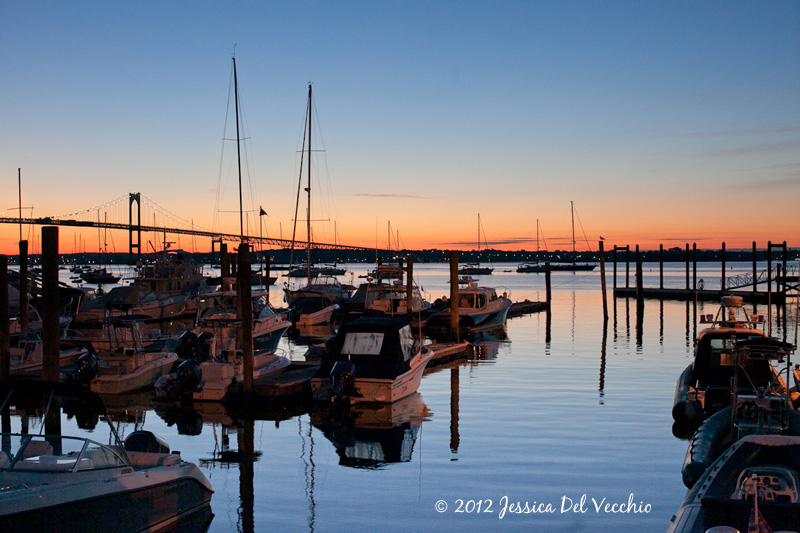 Jamestown Rhode Island Harbor by Washington DC Documentary Photographer Jessica Del Vecchio