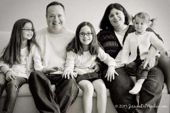 Chevy Chase Family Portrait Photographer :: Fun At Home