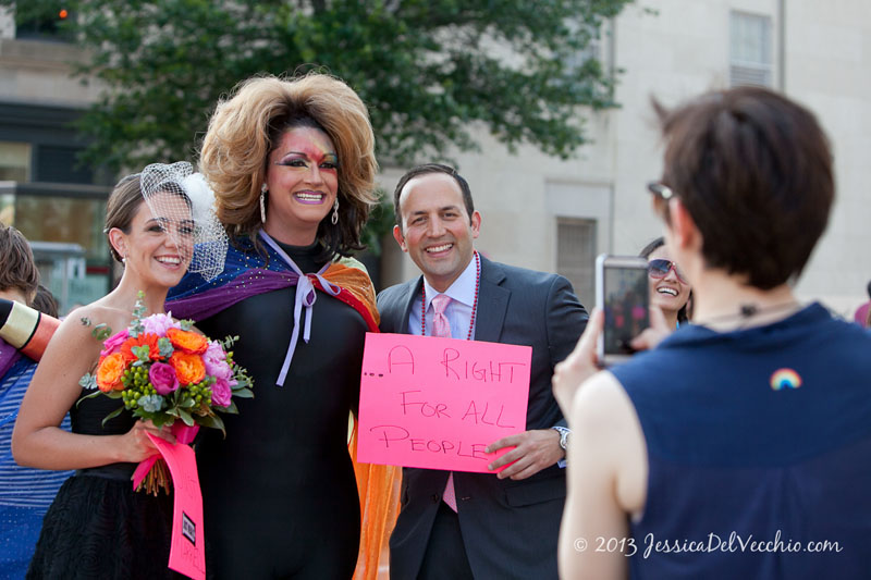 DC Documentary Wedding Photographer at Capital Pride 2013