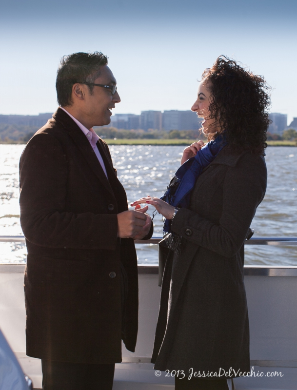 Georgetown Surprise Proposal - Washington DC Engagement
