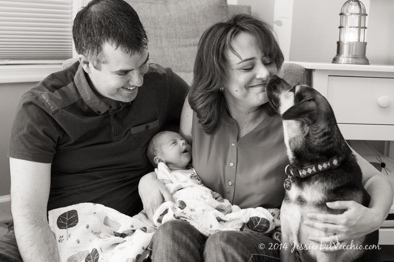 Capitol Hill Newborn Photographer Jessica Del Vecchio