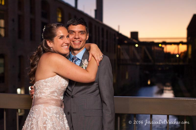 Georgetown Wedding at Pinstripes by Jessica Del Vecchio Photography