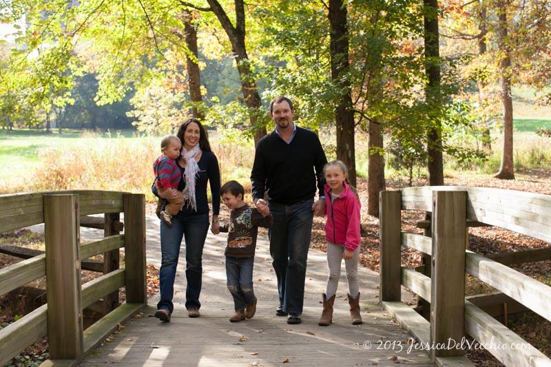 Wolf Trap Virginia Family Portrait Photographer Jessica Del Vecchio